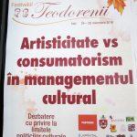 Artisticitate vs. consumatorism în managementul cultural