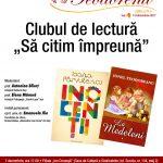 """Clubul de lectură """"Să citim împreună"""""""