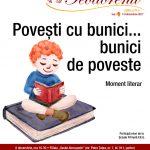 """""""Povești cu bunici... bunici de poveste"""": moment literar"""