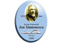 """Școala Gimnazială """"Ion Simionescu"""" Iași"""